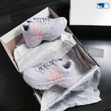 Hàng Chính Hãng MLB New York Mets Sneakers - Big Ball Chunky A Light Purple 2020**