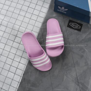 Last SS- sale Adidas Dép Adilette Aqua Slides Lavender