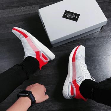 MUA 1 TẶNG 1~ Hàng Chính Hãng Adidas Ultra Boost 5.0 Grey/Orange 2020**