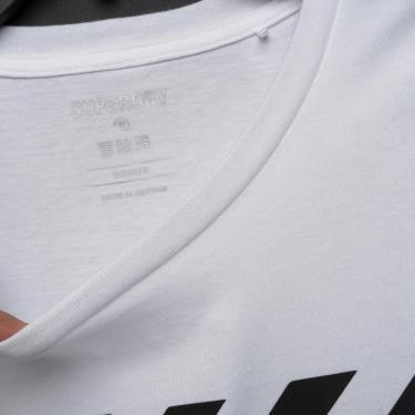 Sale Sock Áo Thun Superdry Coresport Graphic White **ÁP DỤNG CK
