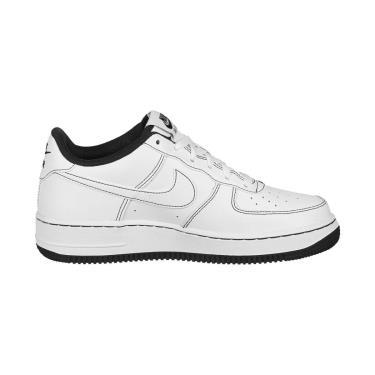 Nike Air Force 1 White Black Stitch [CW1575 104]