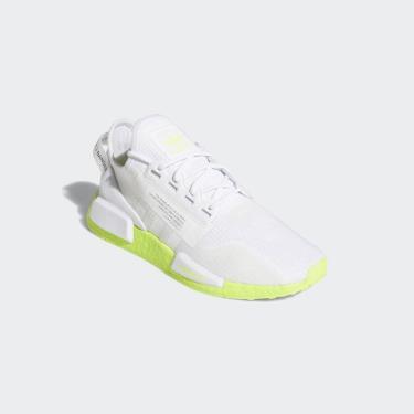 FLASH EVENT 70% Hàng Chính Hãng NMD_R1 V2 White/Neon 2020**