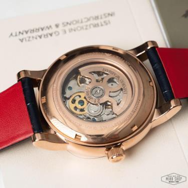 Hàng Chính Hãng Emporio Armani Watch Rose Gold/Navy 2021**