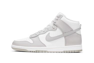 Giày Nike Dunk High Retro White Vast Grey [DD1399 100]