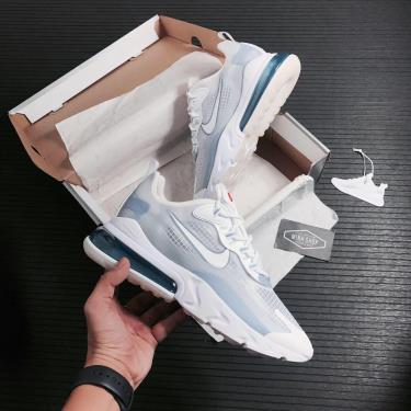 OFF-1XXX 2 DaysHàng Chính Hãng Nike Air Max 270 React White Pure Platinum 2021**