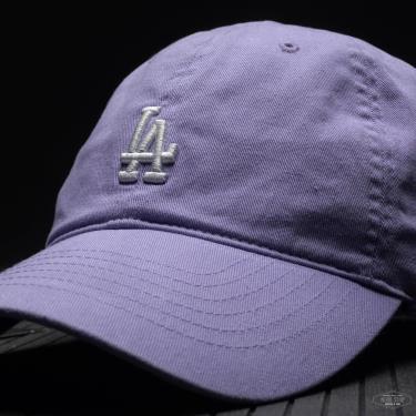 Hàng Chính Hãng Nón MLB Cover Ball LA Dodgers Light Purple 2021**