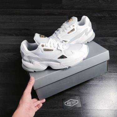 Hàng Chính Hãng Adidas Falcon 'White Gold Metallic' 24K Limited 2020**