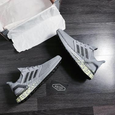 """Hàng Chính Hãng Adidas Ultra Boost 6.0  """"Grey Signal Green""""  2020**"""