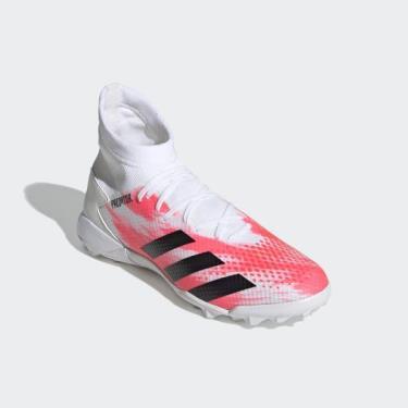 Hàng Chính Hãng Adidas Soccer Predator 20.3 TF Cloud White/Black 2021**