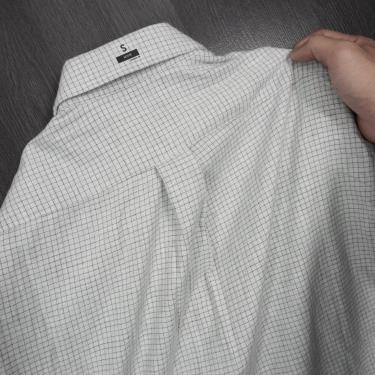 Hàng Chính Hãng Áo Uniqlo Flannel Long Sleeve Shirt Whtie Caro 2020**
