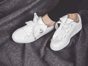 Hàng Chính Hãng Puma Heart Patent White *2020**