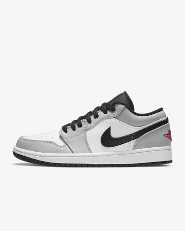 ~~~ Hàng Chính Hãng Nike Jordan 1 Low Light Smoke Grey Red 2020**
