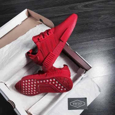 OFF 50% Hàng Chính Hãng Adidas NMD R1'Triple Scarlet' 2020**