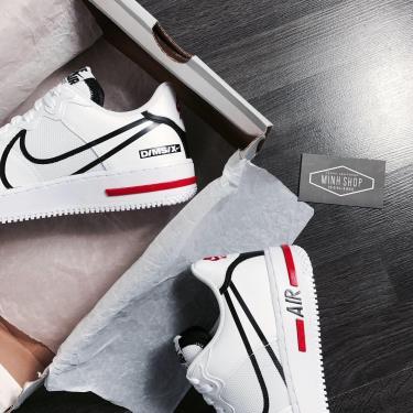 Hàng Chính Hãng  Nike Air Force 1 React D/MS/X White 2020** V