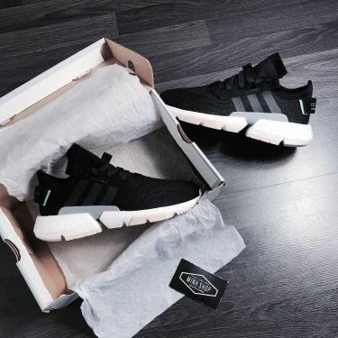 Hàng Chính Hãng Adidas POD S3.1 Black/White/Cream 2020**