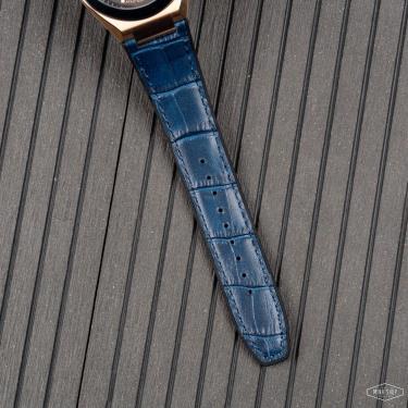 Hàng Chính Hãng Maserati Triconic Automatic Navy/Gold Watch  2021**