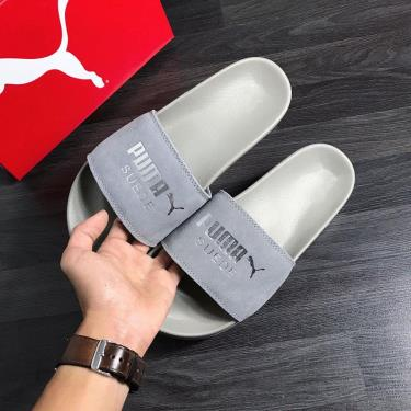 FLASH EVENT 70% OFF Today Dép Puma Suede Leadcat Sandals Light Grey ZZZ **2020**