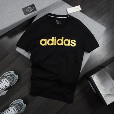 Hàng Chính Hãng Áo Thun Adidas Essentials Black/Gold 2020**