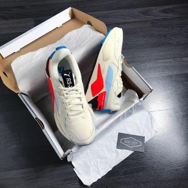 Only 1/2 web Hàng Chính Hãng  Puma  RS-X Patent White/Orange 2020**