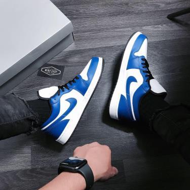 Hàng Chính Hãng Nike Air Jordan 1 Low  Game Royal  2020** V