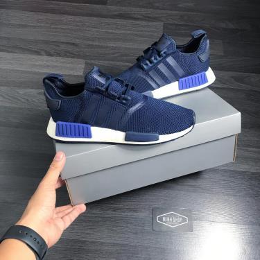 50% OFF Hàng Chính Hãng Adidas NMD R1 Active Blue 2020**