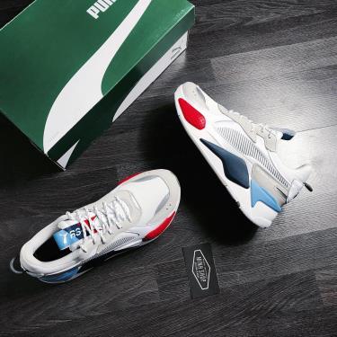 Hàng Chính Hãng Puma BMW Motorsport x RS-X 'White Grey' 2020**