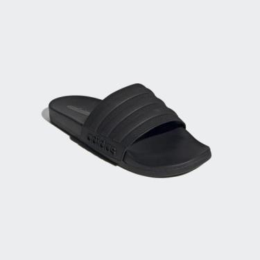 Hàng Chính Hãng Dép Adidas Adilette Comfort Slides Black 2021**