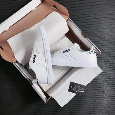 Hàng Chính Hãng Adidas Courtpoint CL X White/Black 2021**