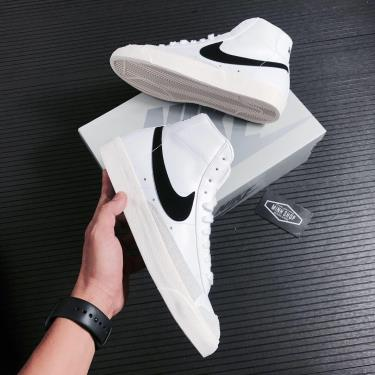 Hàng Chính Hãng Nike Blazer Mid 77 White/Black 2021**