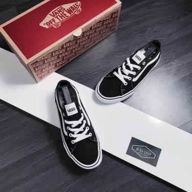 Hàng Chính Hãng Vans Sneaker Black/White 2019**