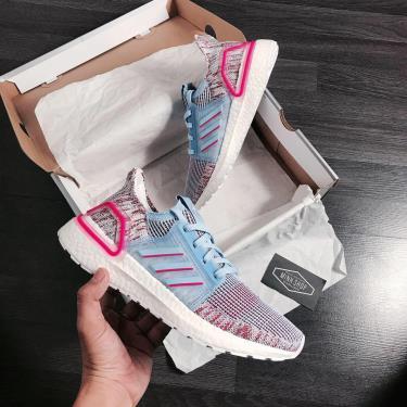 MUA 1 TẶNG 1~  Hàng Chính Hãng Adidas Ultra Boost 5.0 Glow Blue GS 2020**