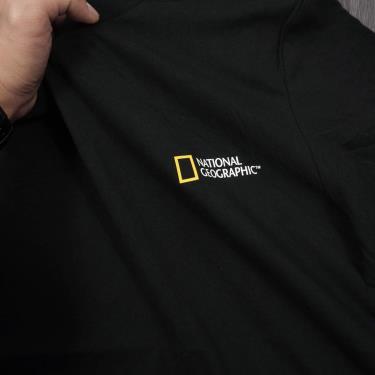 Hàng Chính Hãng Áo Thun National Geographic Black Cotton 2020**