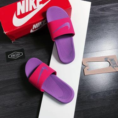 Hàng Chính Hãng Dép Nike Kawa Slide Purple Pink 2020**