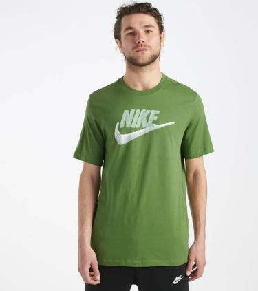 Hàng Chính Hãng Áo Thun Nike Tee Brand Mark Green  2020**
