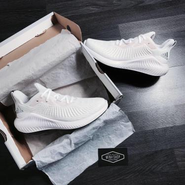 Hàng Chính Hãng  Adidas Alpha Bounce Plus  Crystal White Orchid Tint  2020**