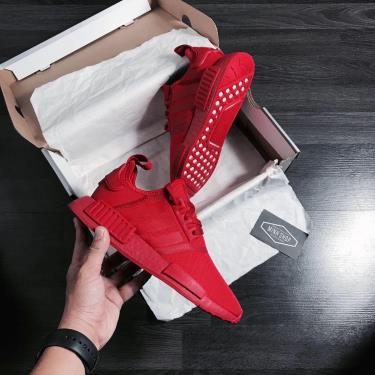Hàng Chính Hãng Adidas NMD R1'Triple Scarlet' 2020**