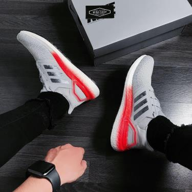 Hàng Chính Hãng Adidas Ultra Boost 6.0 Grey Two Signal Coral 2020** V