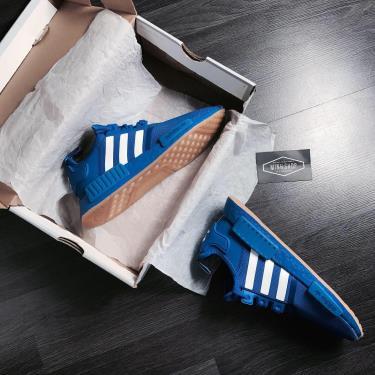 Hàng Chính Hãng Adidas NMD R1 Blue White Gum 2019**