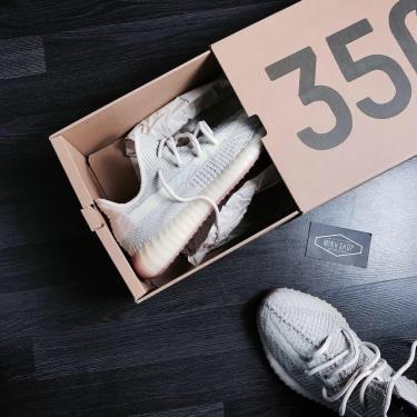 Hàng Chính Hãng Adidas Yeezy Boost 350  V2 'Citrin' 2020**