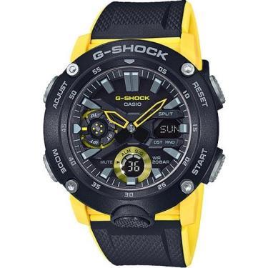 Hàng Chính Hãng Casio G-Shock  Black/Yellow 2020**