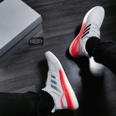 Hàng Chính Hãng Adidas Ultra Boost 6.0 Grey Two Signal Coral 2020**