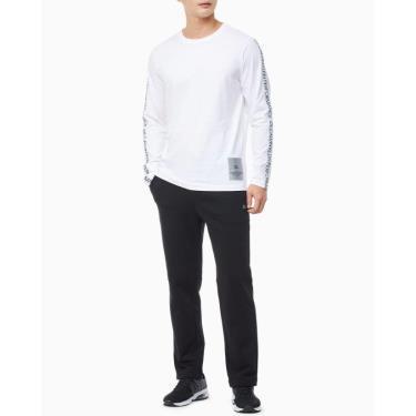 Hàng Chính Hãng Áo Long Sleeves Calvin Klein White 2020**