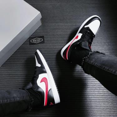 Giày Nike Air Jordan 1 Low Siren Red [DC0774 004] [O]