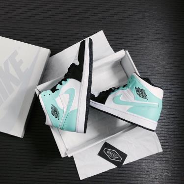 ⬆️ OFF -2xxx  Giày Nike Air Jordan 1 Mid Island Green Igloo ** [554724 132]