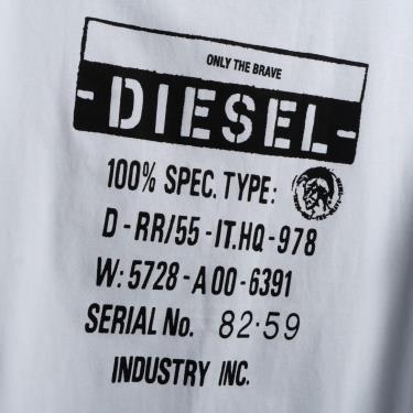 Hàng Chính Hãng Áo Thun Diesel Black/White V1 *2020**
