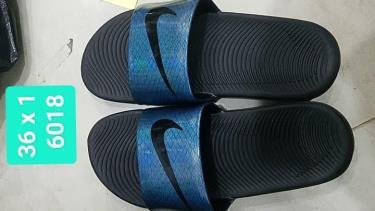 Hàng Chính Hãng Nike Kawa Slide Dragon Black/LOGO Black 2019**