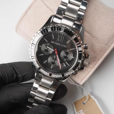 Hàng Chính Hãng Michael Kors Everest Silver Watch 2021**