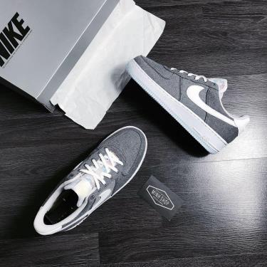 Hàng Chính Hãng Nike Air Force 1 '07 Iron Grey 2020**