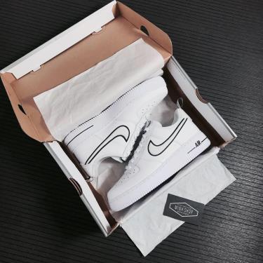 Hàng Chính Hãng Nike Air Force 1  White Black 2021**-