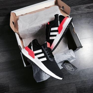 Hàng Chính Hãng Adidas U_Path Run Black White Orange **2020**
